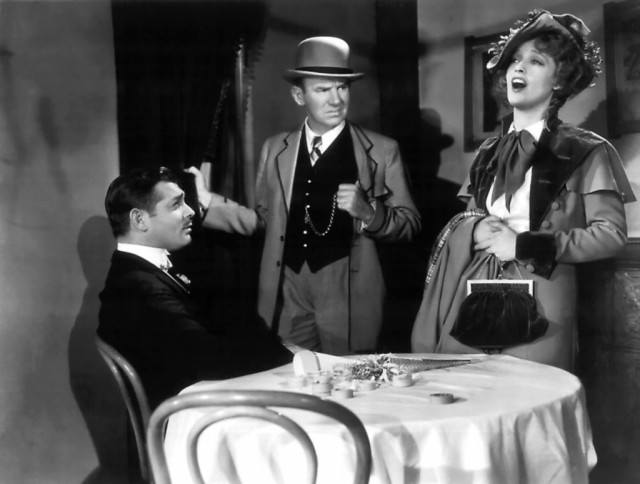 Clark Gable and Jeanette MacDonald in 'San Francisco.'