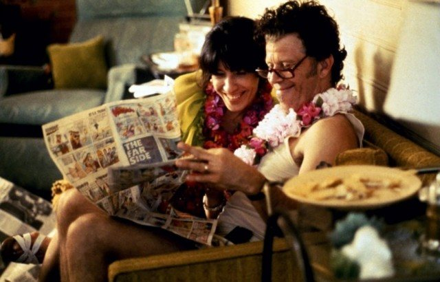 Lily Tomlin and Tom Waits in 'Short Cuts.'