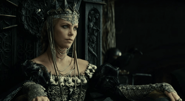 Charlize Theron as the Queen in 'Snow White and the Huntsman.'