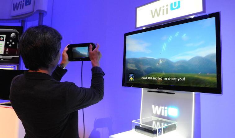 Star Fox on Wii U.