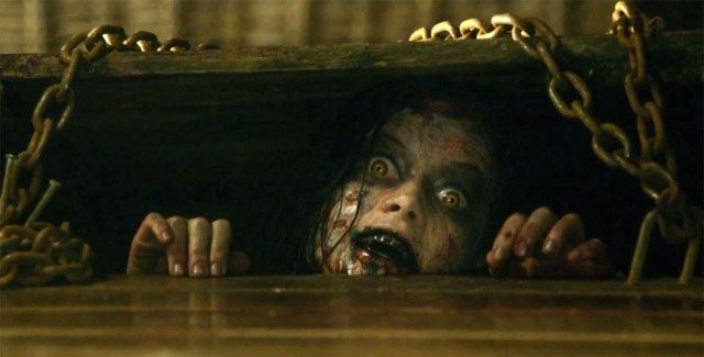 Jane Levy in 'The Evil Dead.'
