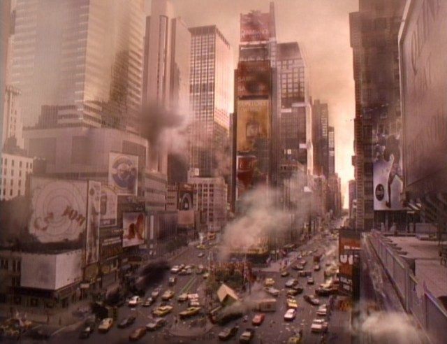 Total devastation in NYC in 'The Stand.'