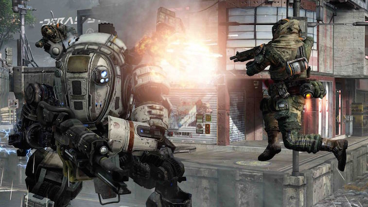 Titanfall, an Xbox One exclusive first-person shooter