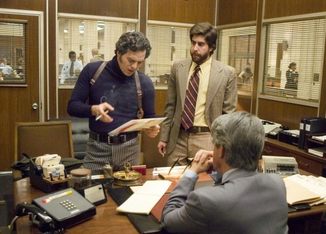 Mark Ruffalo and Adam Goldberg in 'Zodiac.'