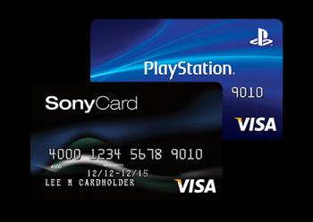 Sony rewards visa