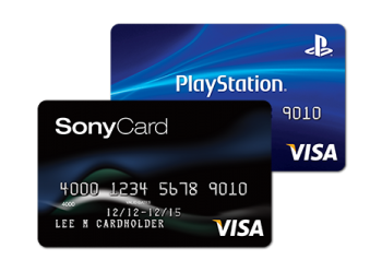 Sony rewards visa