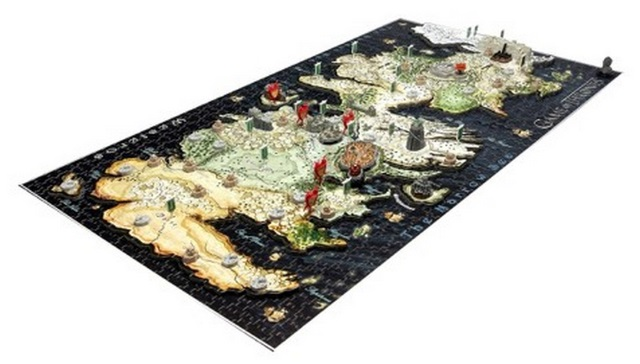 4D Cityscape Puzzle Game of Thrones