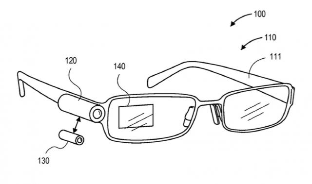 Amazon smart glasses patent