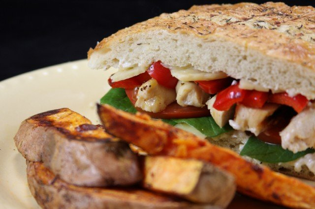 grilled chicken panini