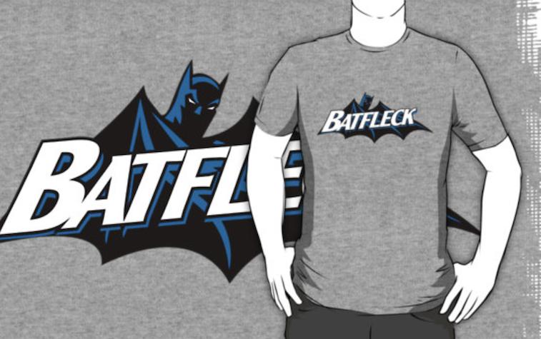 Batfleck shirt