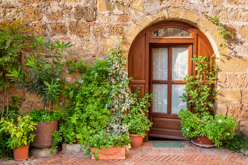 a beautiful home in Tuscany
