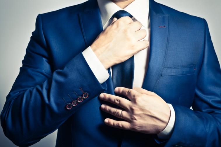 a man's tie