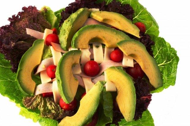 Chef's Salad with Avocado, Turkey, Tomato