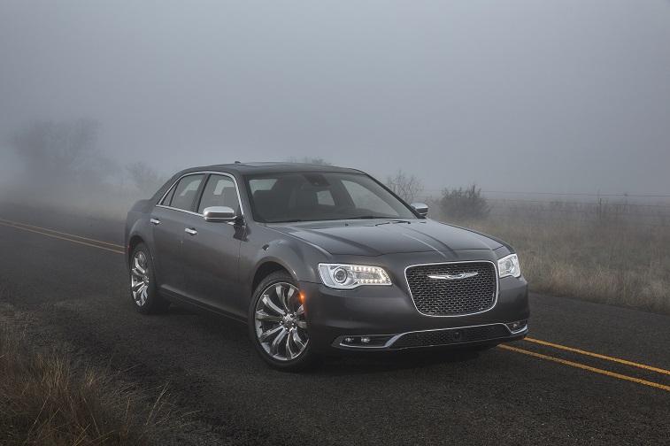 Road shot of 2015 Chrysler 300C sedan