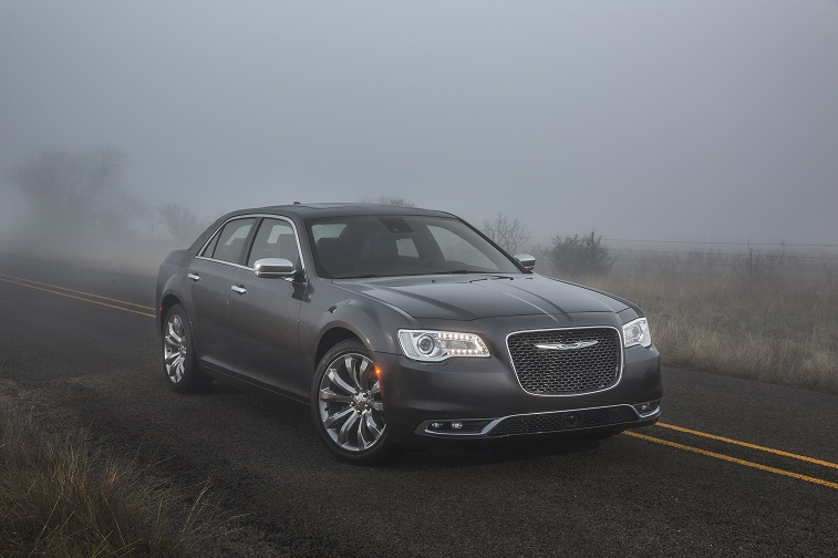 Road shot of 2015 Chrysler 300C sedan