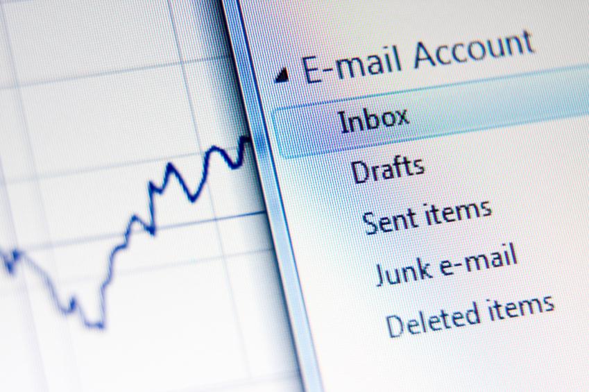 An email inbox