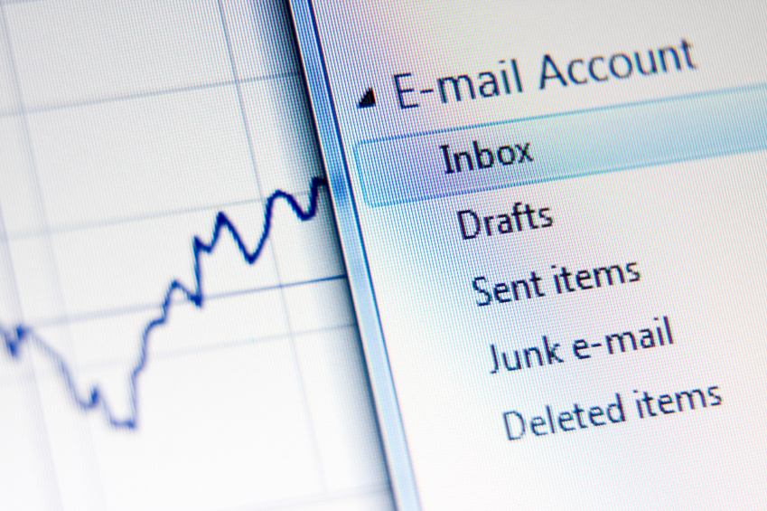 An email interface
