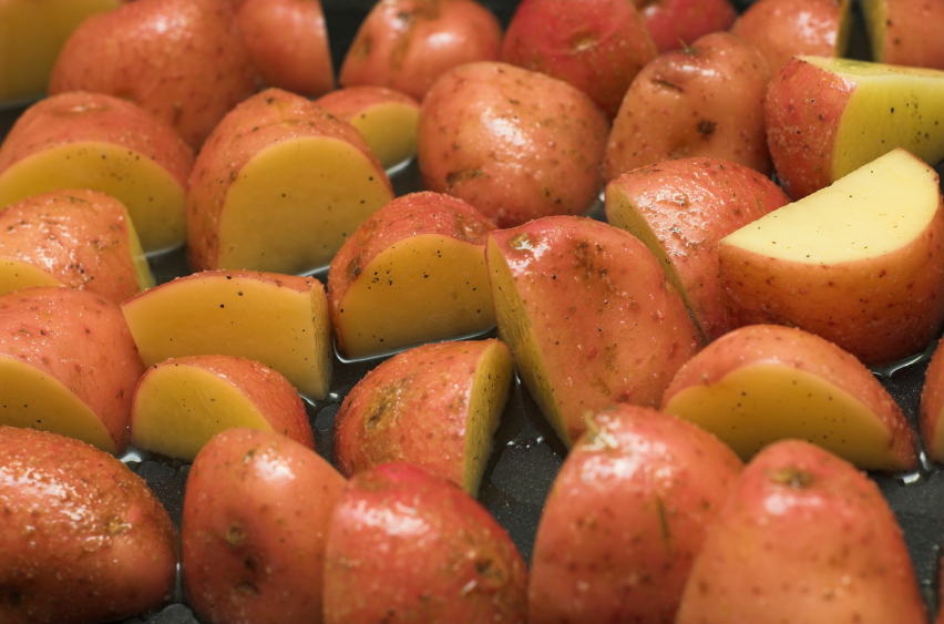 cooking baby red potatoes