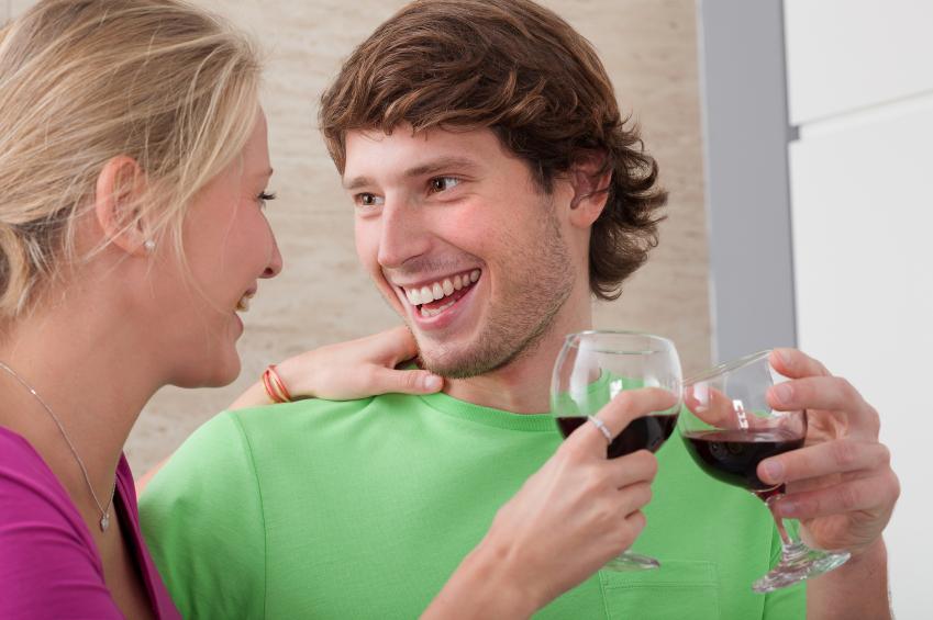 couple having fun, date