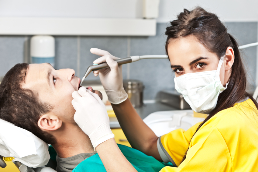 Dental hygienist is a high-paying healthcare job.
