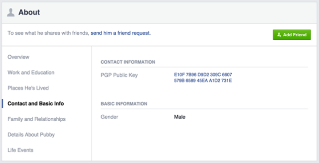 Facebook adds PGP encryption for email communications