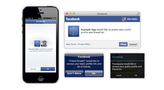 Facebook social login