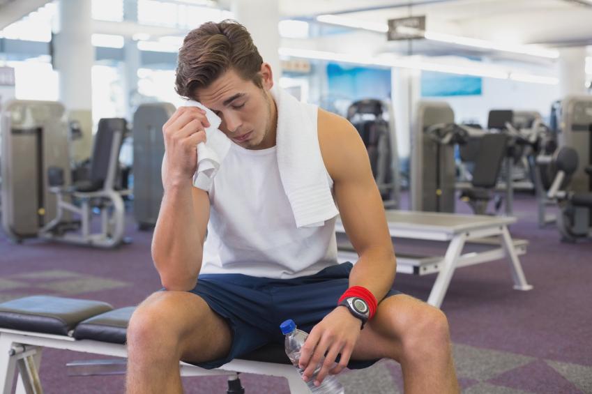 gym, rest, break