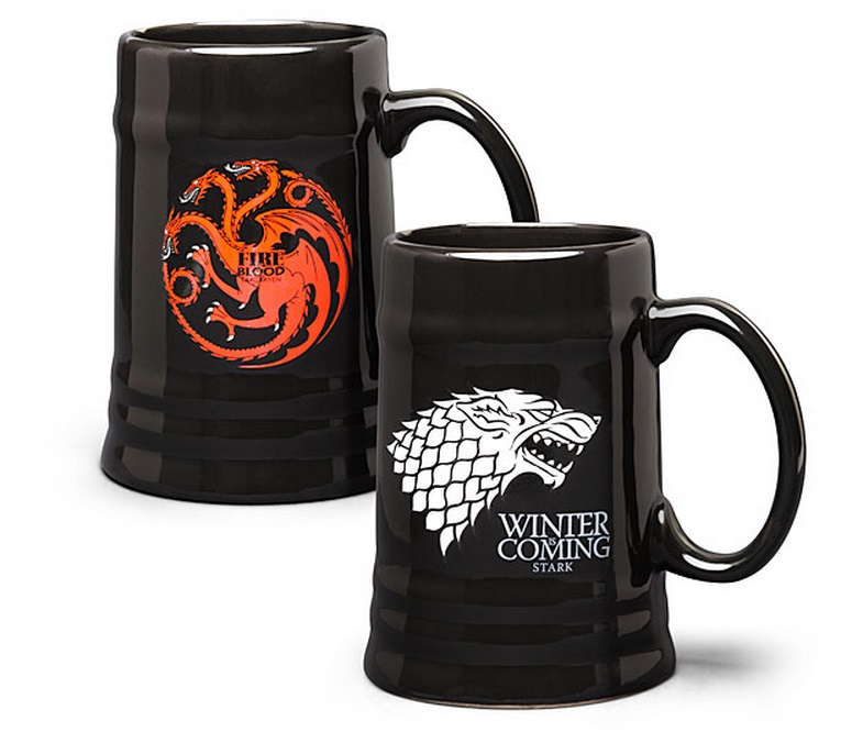 Game of Thrones Ceramic Steins