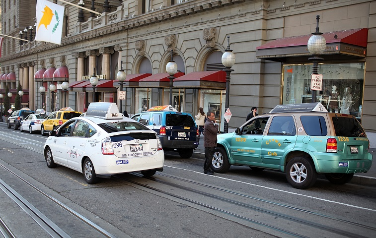 Taxis in San Francisco