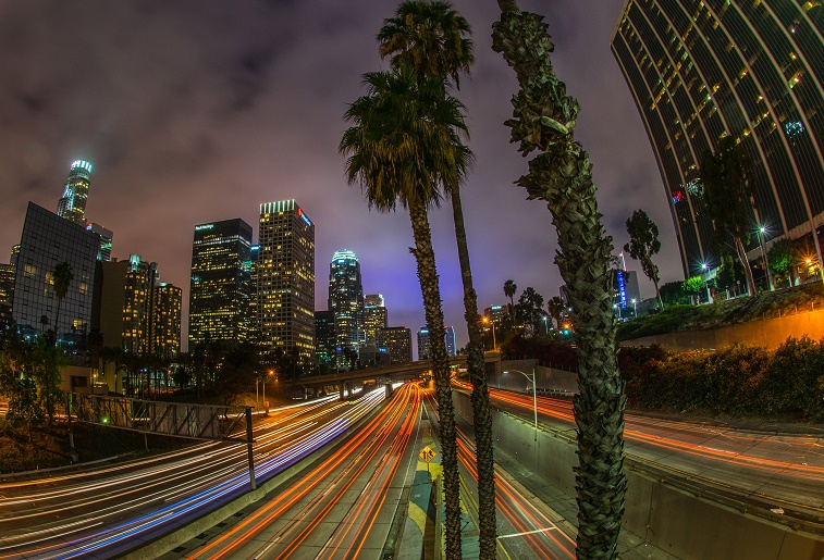 Downtown of Los Angeles
