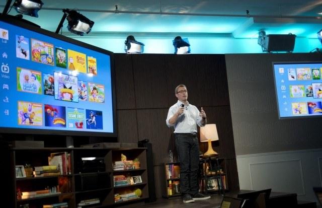 An Amazon exec discussing the Amazon Prime library