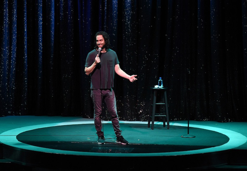 Chris D'Elia performs his stand-up comedy routine as part of the Aces of Comedy series at The Mirage Hotel