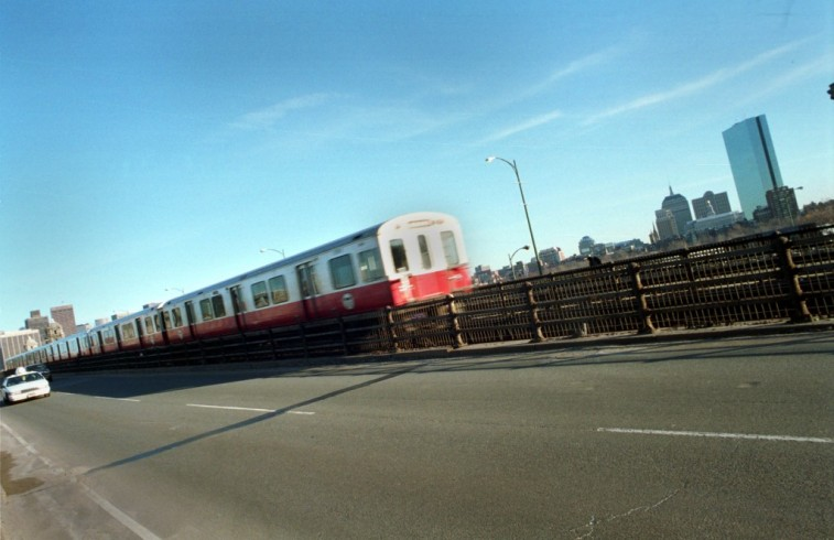 Boston MBTA Train