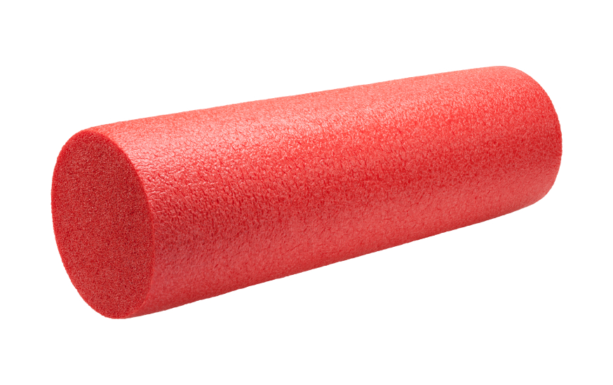 Red foam roll for muscles
