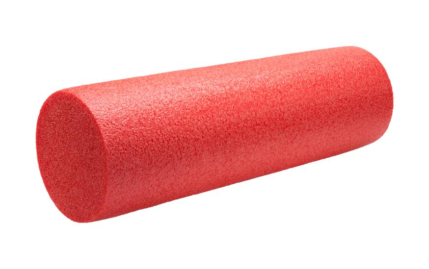 red foam roller