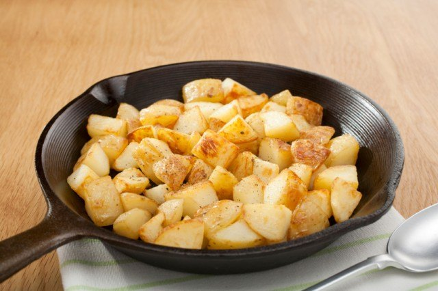 Potatoes in a Skillet