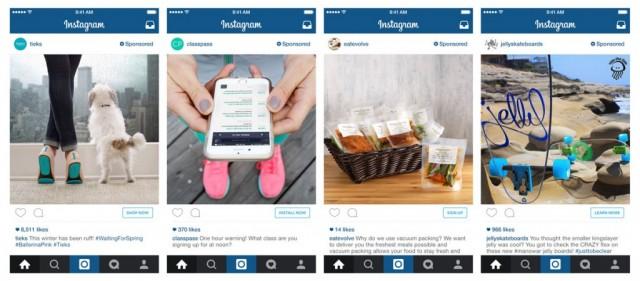 Instagram advertising Sponsored posts