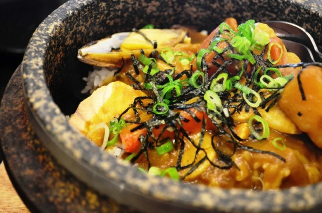 seafood curry