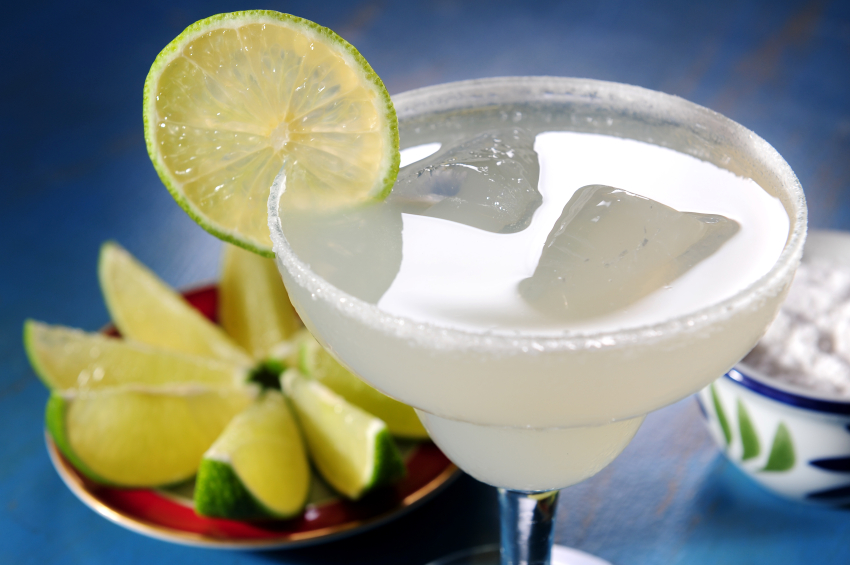 margarita with limes
