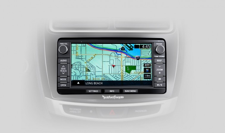Mitsubishi Infotainment System