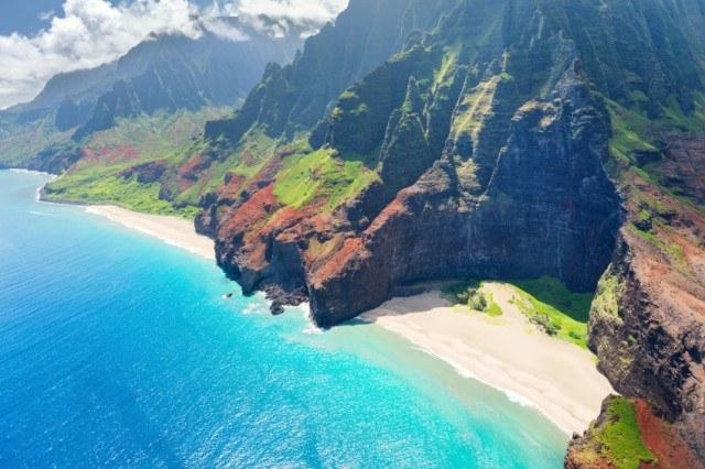 Na Pali Coast on Kauai island