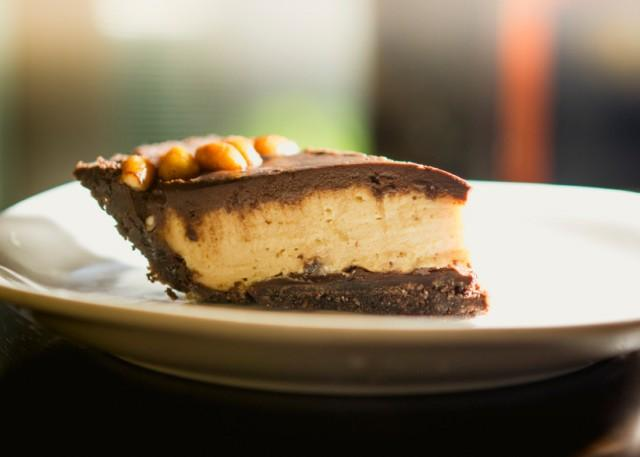 Peanut butter pie with Oreo crust   Source: iStock