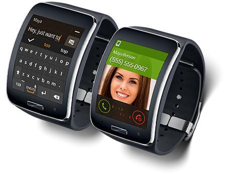 Samsung Gear S wearable device