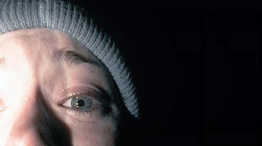 Scene from The Blair Witch Project