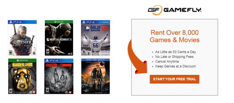 video game rental