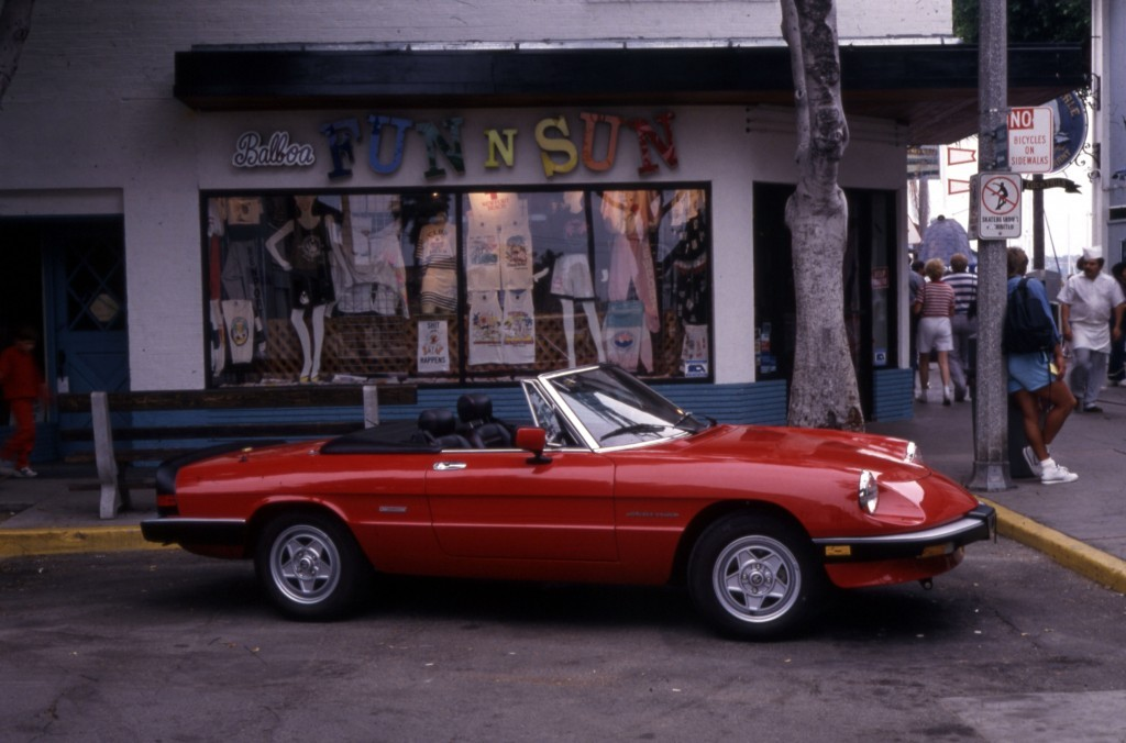 Alfa Romeo Spider The Official Car of Summer