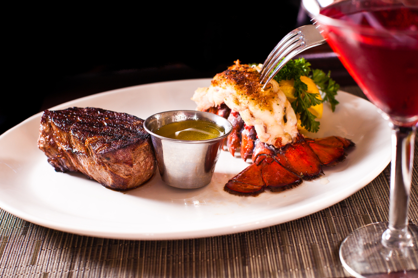 Steak and Lobster
