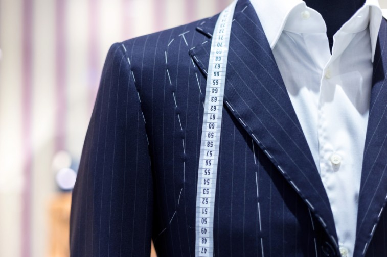 suit on mannequin