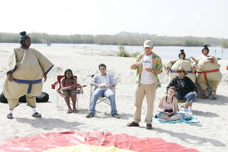 The Office actors on the beach
