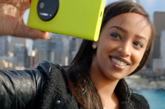 Windows Phone selfie